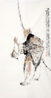 李傅宇(当代书画名人)吉星高照