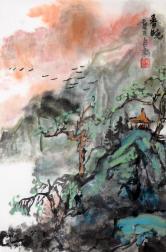杨自新(中国美协)春晓