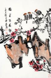 孙开林(中国美协)梅占百花魁