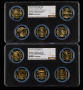 2002年-2006年世界文化遗产流通纪念币十枚一套(NGC MS66)