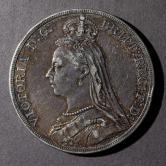 1889年英国28.28克银币一枚