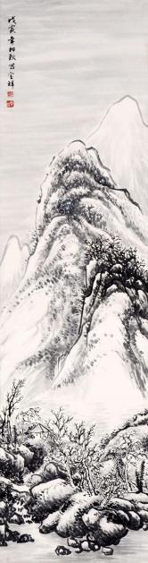 杨宝祥 雪景图