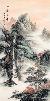 于永茂(中国美协)山水清音