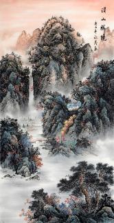于永茂(中国美协)溪山胜境