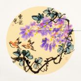 吴东俣(国家一级美术师)紫气东来