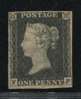 1840年黑便士新一枚