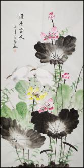 【214】桂林美协理事【朱秋凤】花鸟