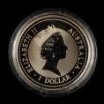 赵涌在线_钱币类_1996年澳大利亚翠鸟1盎司银币一枚