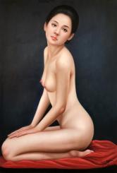 陈一茗(油画名家)油画人物(附合影)