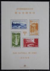 1938年日本日光国立公园小全张新一枚