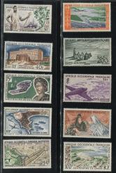中非1956年航空邮票新全