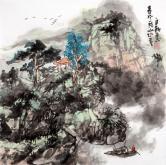 杨自新(中国美协)春风一阵山水秀