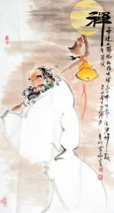 谢增华(国家一级美术师)禅(附合影)