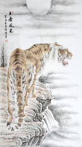 张清栋(中国书画协会)王者风范
