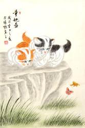 张清栋(中国书画协会)童趣图