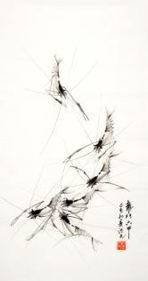 刘德光(画虾名家)龙门六甲