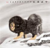 张清栋(中国书画协会)雪域雄风