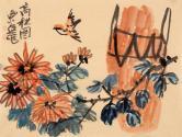 吴东俣(国家一级美术师)高秋图