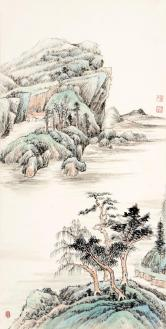 董利峰(职业画家)山水