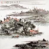 杨亮(吉林美协)平湖帆影