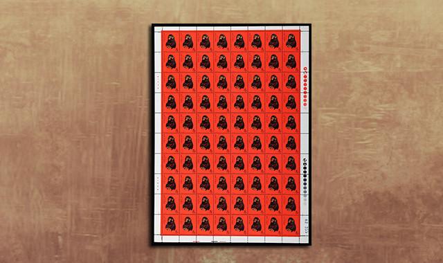 邮票类_T46猴新80套(挺版、62255)