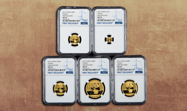 钱币类_2021年熊猫150克精制金币一枚(首期发行、带证书、NGC PF70)