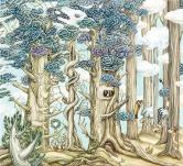 董亚楠(1991-) 《树林寻物(6/30)》
