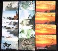 赵涌在线_邮票类_中国黄山风景国际航空邮资明信片新四套、盖一套