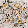 赵涌在线_当代艺术_吴冠中(1919-2010)《小石榴(161/500)》