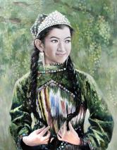 李彰鸿(1971-)《吐鲁番的葡萄》
