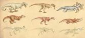 董亚楠(1991-) 《六只恐龙A(6/30)》