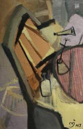牛婕(1988-)《椅子 The chair(独版)》