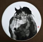 欧邹(1981-)《马2014-7》